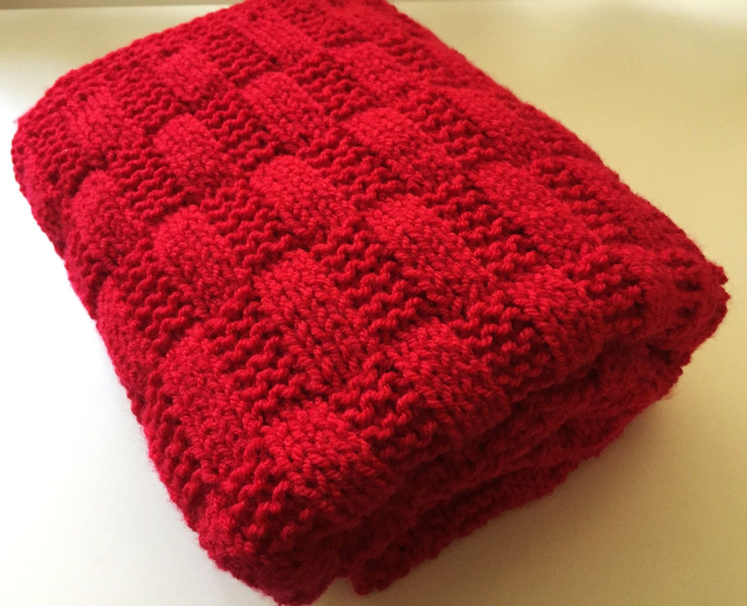 Rectangles baby blanket knitting pattern by Daisy Gray Knits ...