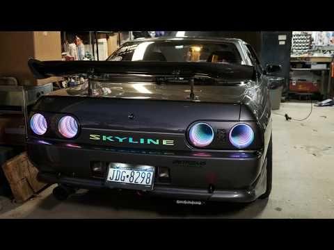 Photo of Original HD INFINITY MIRROR Tail lights R32 SKYLINE (Nintendo Controller Remote start)- Steve Molans