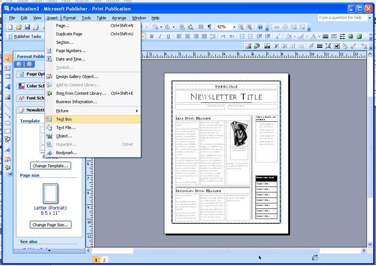 Ms Publisher Templates Publisher Templates Microsoft Publisher Resume Templates