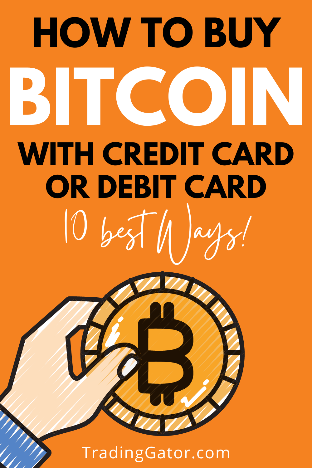 How To Buy Bitcoins With Credit Card Or Debit Card 10 Best Ways In 2020 Buy Bitcoin Debit Card Online Broker