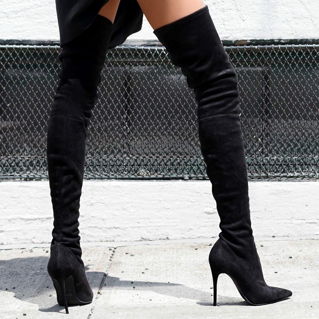 7ab2b44e33351 Steve Madden Stretchy Over The Knee Boots https   www.myshoebazar.com