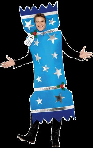 Christmas Cracker Costume - Blue | Jokers Masquerade - Christmas Cracker Costume - Blue Jokers Masquerade Costumes