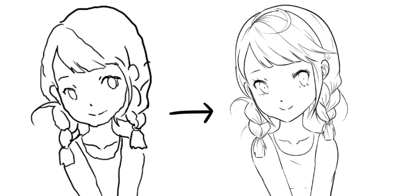 How To Make Smooth And Thin Lineart Draw Manga With Yaantii 1 By Yaantii Clip Studio Tips Clip Studio Paint Anime Lineart Digital Illustration Tutorial