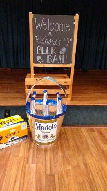 Modelo Pinata For The Beer Theme Birthday Ideas Modelo