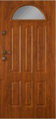 Gerda GTT – golden oak glazed outside security door – Gerda …