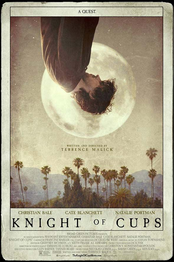 """""""Knight of Cups"""" Poster, Teaser Promos 