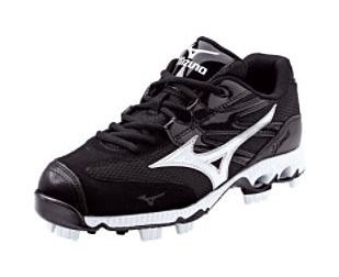 Check out the deal on Mizuno 9-Spike Finch Low G4 Women's Cleats - Black