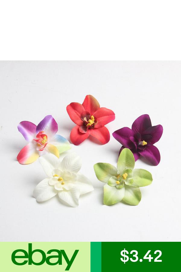 Artificial Silk Flowers Crafts Silk Orchids Artificial Orchids Fake Flowers