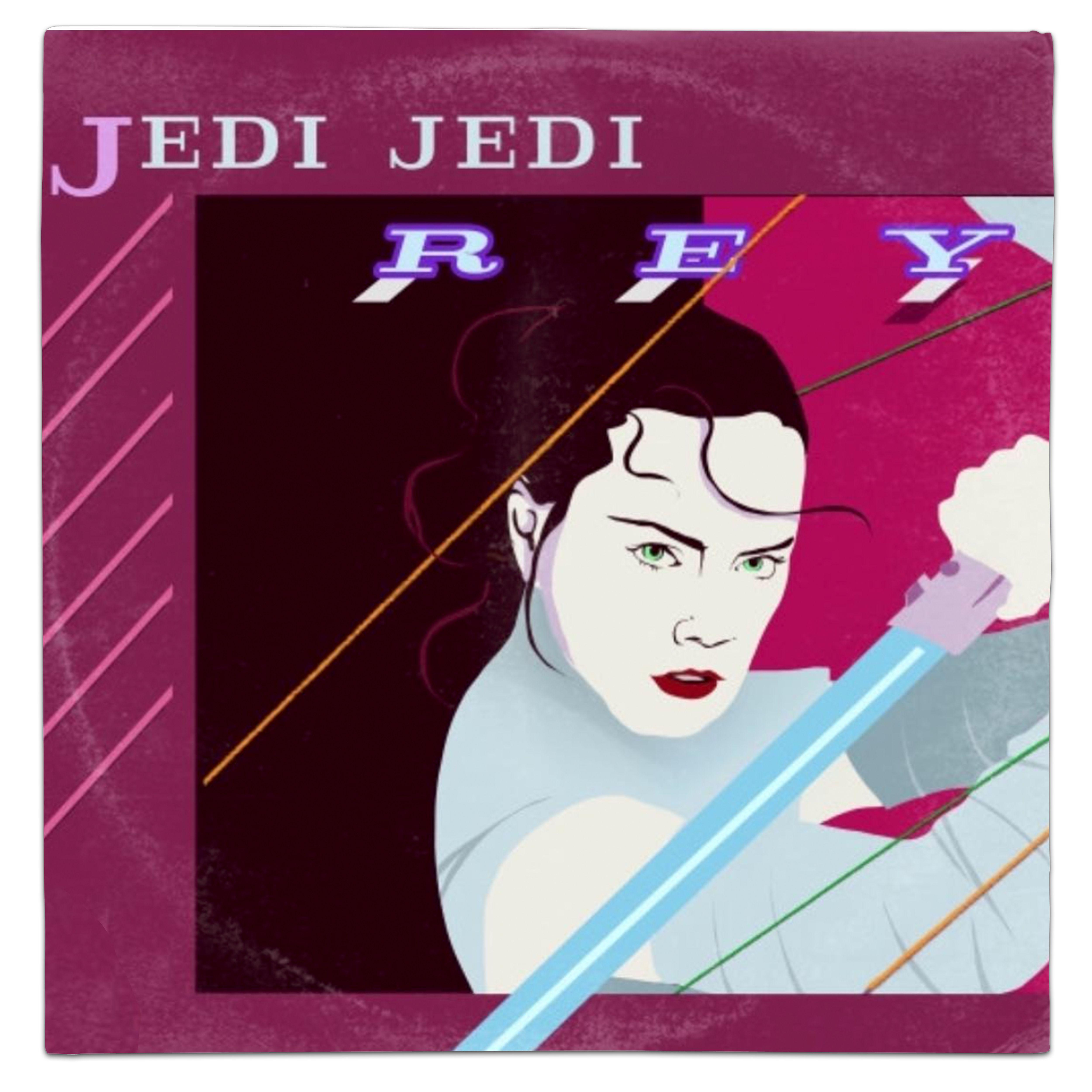Duran Duran Rio Star Wars Last Jedi Rey Vinyl Mash Up