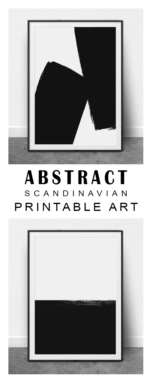 Really love these scandinavian modern minimalist black and white prints download instantly and print from home printable wall art abstract