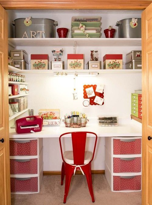 Transform An Unused Closet To A Fabulous Space! | Mrs Happy Homemaker