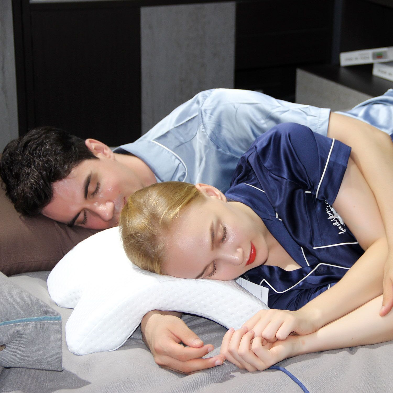 arm tunnel pillow for cuddling online