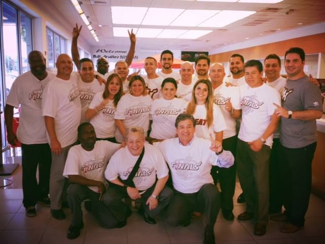 Staff Rooting For The Heat Bill Seidle Nissan Hialeah Nissan Pembroke Pines