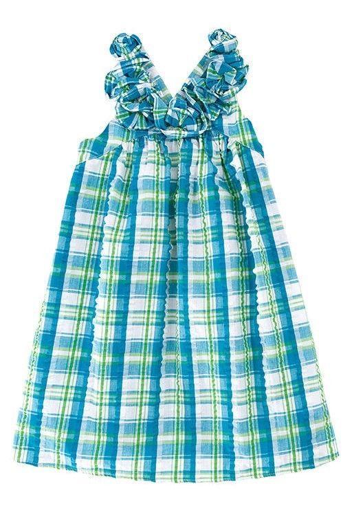 NEW KELLY'S KIDS  SEERSUCKER PLAID POCKET DRESS GIRLS TODDLER SIZE 2 REGULAR #KellysKids #DressyEveryday
