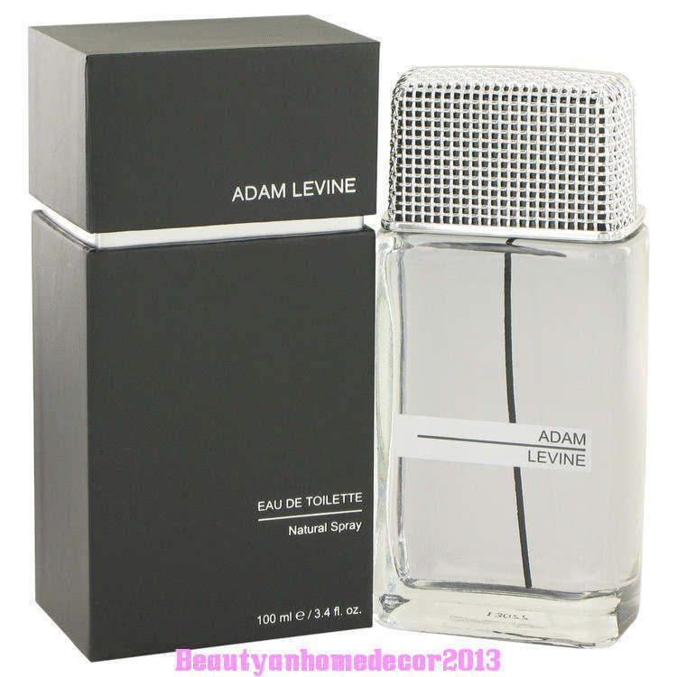 Adam Levine Cologne by Adam Levine 3.4 oz / 100 ml EDT Spray for Men New in Box #AdamLevine