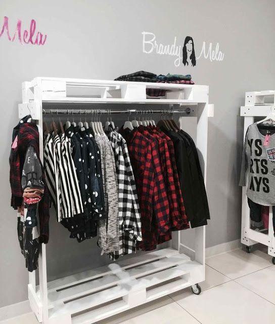 33 Ideias Para Transformar Sua Casa Normal Em: Como Montar Um Closet Improvisado Sem Gastar Muito