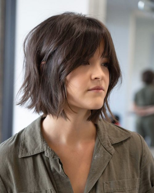 23 Chic Choppy Bangs for Women That Are Popular fo