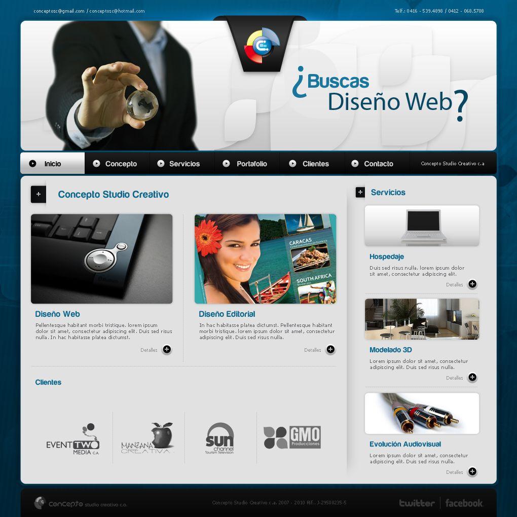 Web concepto 2009