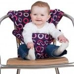 Totseat - The Washable, Squashable Highchair in Bramble