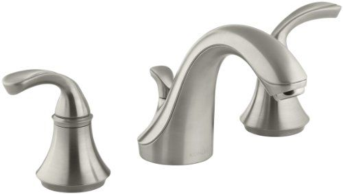 Kohler K 10272 4 Bn Forte Widespread Lavatory Faucet With Sculpted