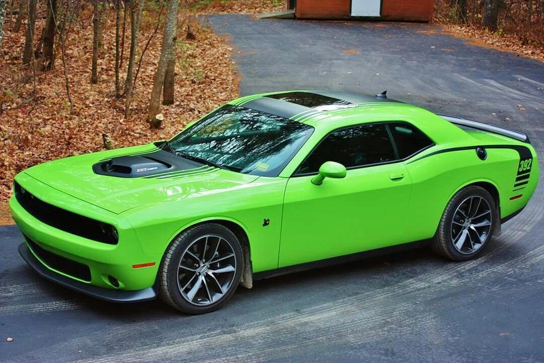 Dodge Challenger SRT Hellcat Neon Clock Scat Pack Hemi Chrysler Mopar