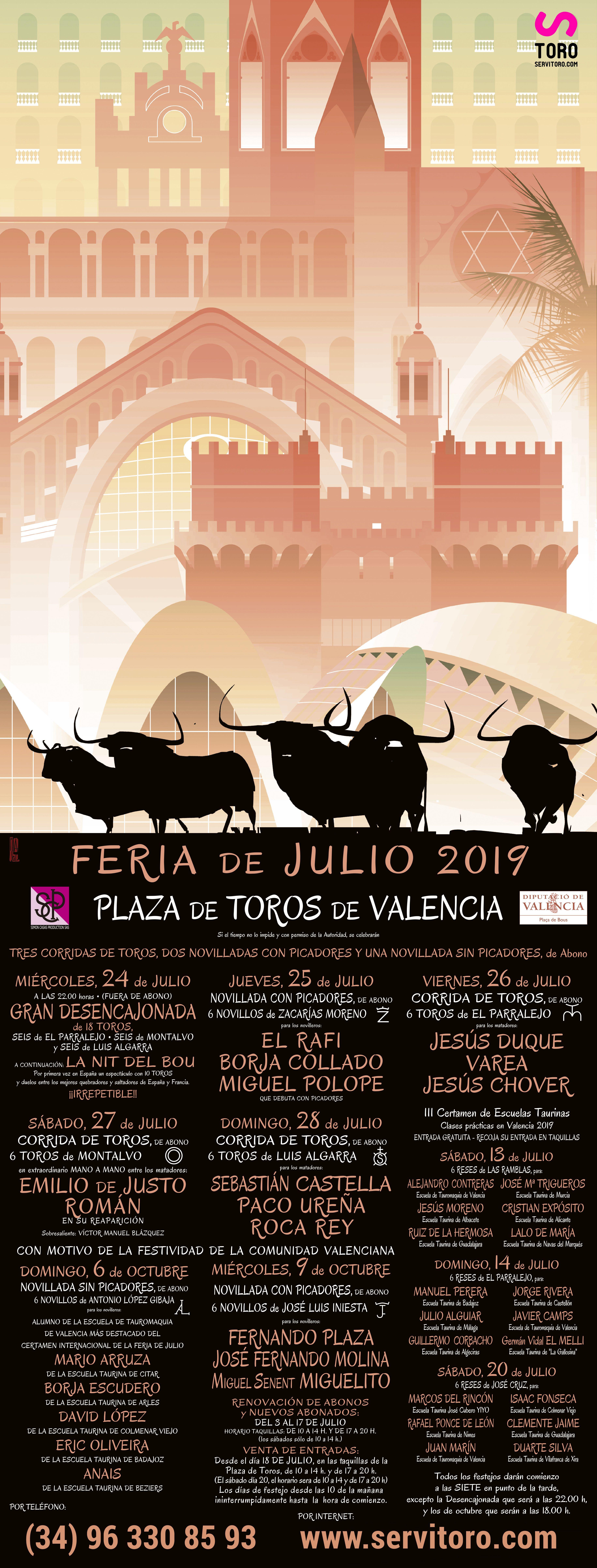 Plaza De Toros De Valencia Toros Plaza De Toros Feria Valencia