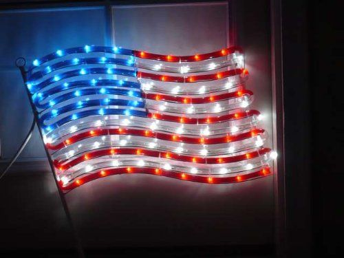 american lights patriotic christmas youtube flag light watch