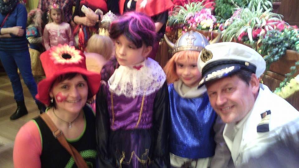 Die Kids haben beim #Kindermaskenball im #Klagenfurter #Konzerthaus richtig viel Spaß.