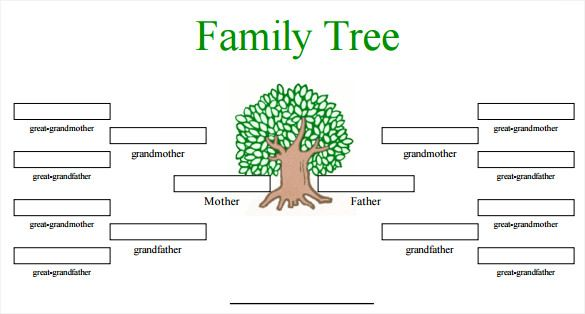 Blank Family Tree Template - 31+ Free Word, PDF Documents Download - family tree template