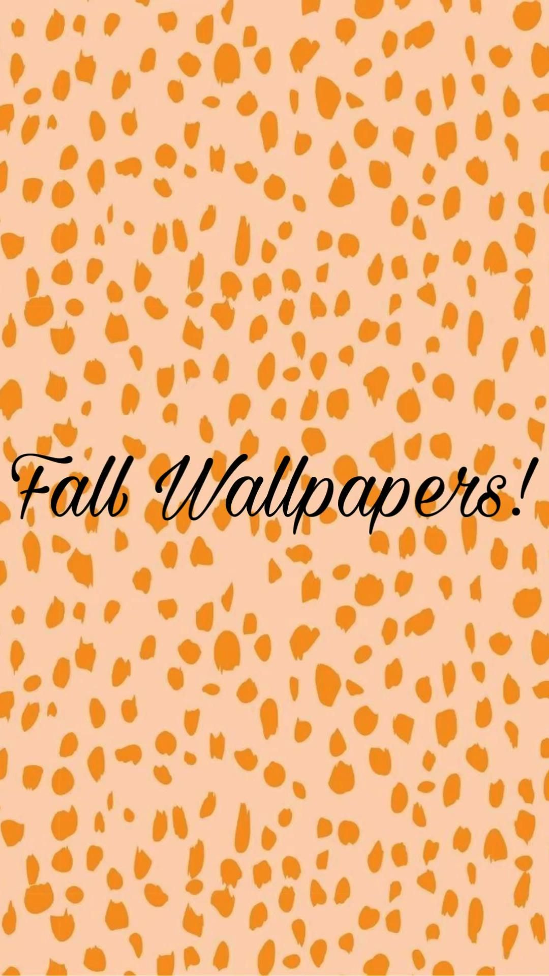 Fall themed wallpapers