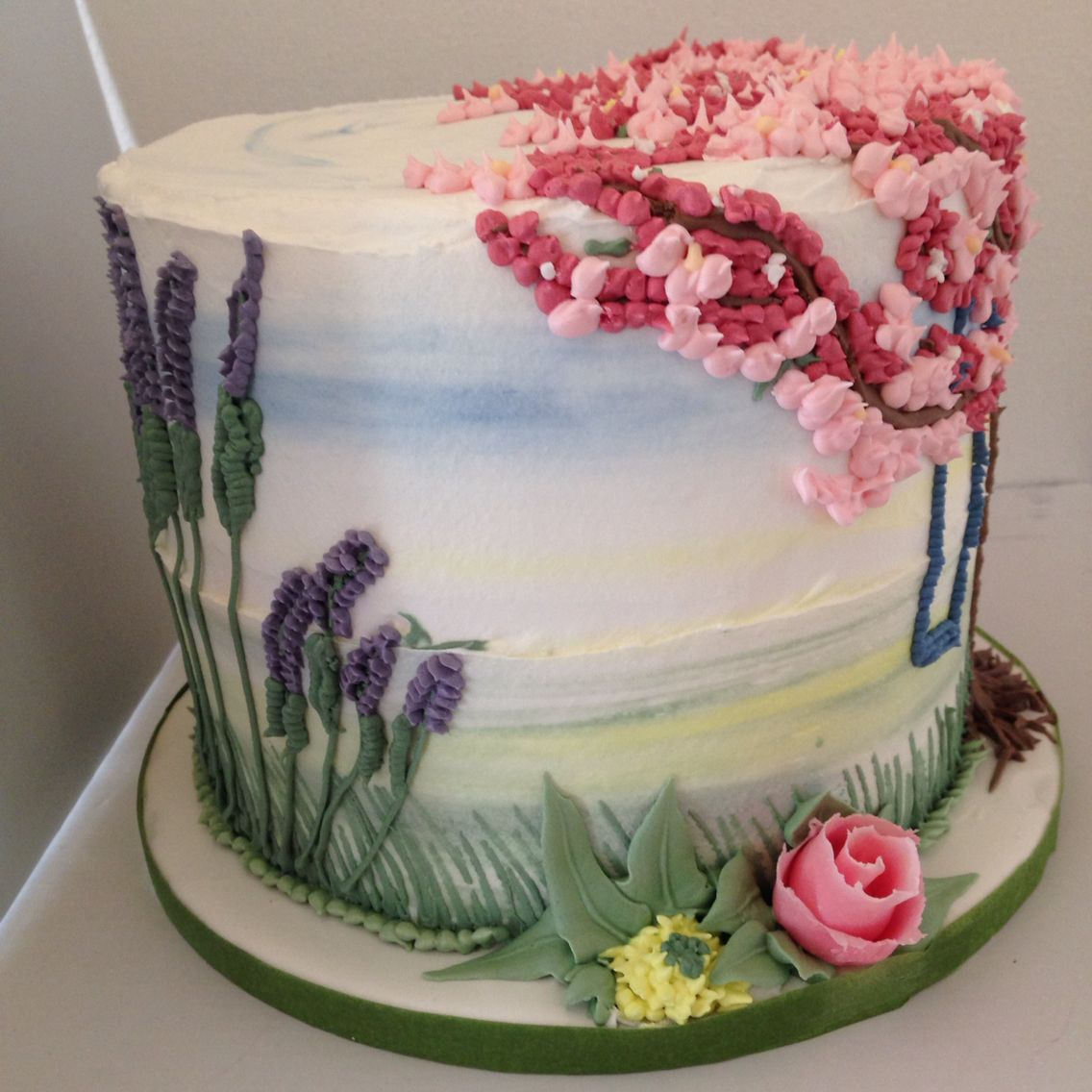 Fruhlingstorte Spring Pie Royal Icing With Images Cake