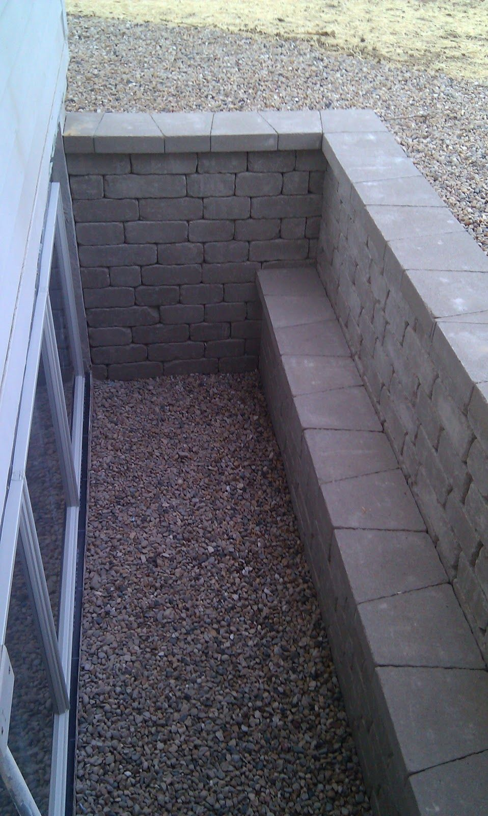 Lighting Basement Washroom Stairs: Hammer Builders LLC: Creative Ideas For Egress Windows