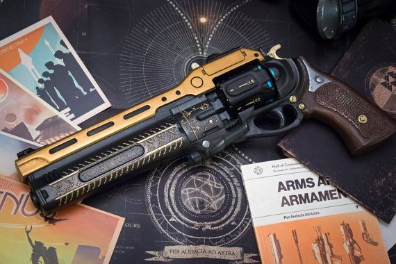 Raw Cast Destiny The Last Word Hand Cannon By Impactpropsca Destiny Hand Cannon Hand Cannon Destiny Hunter