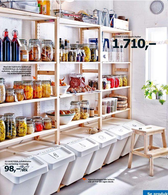 Pin Od Kamila Cudnoch Na Spiżarnia Pinterest Ikea Kitchen