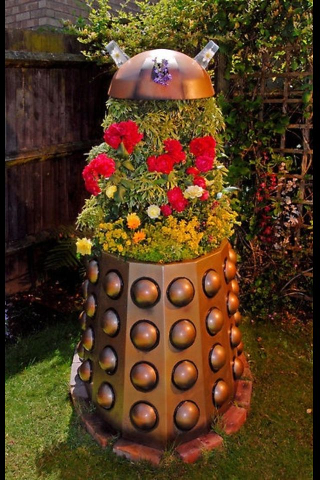 Germinate! Dr. Who style gardening!