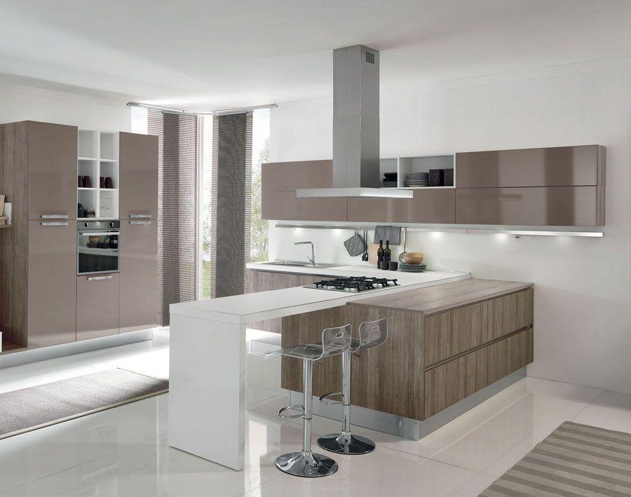 Modelli Di Cucina Moderna.50 Foto Di Cucine Moderne Con Penisola Cucine Moderne