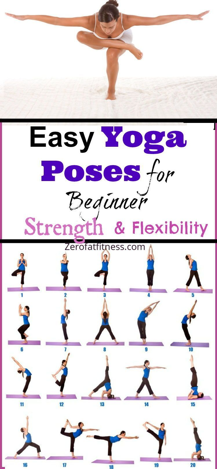 10 Minute Beginners Yoga Poses For Flexibility And Strength Yogaforbeginners 10 Minute Beginners Yoga Morning Yoga Poses Easy Yoga Workouts Easy Morning Yoga