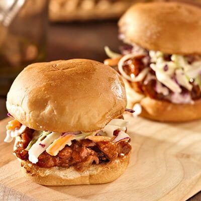 Porc effiloch la mijoteuse recettes cuisiner recipes bourbon street chicken et pulled - Plat cuisine sous vide ...