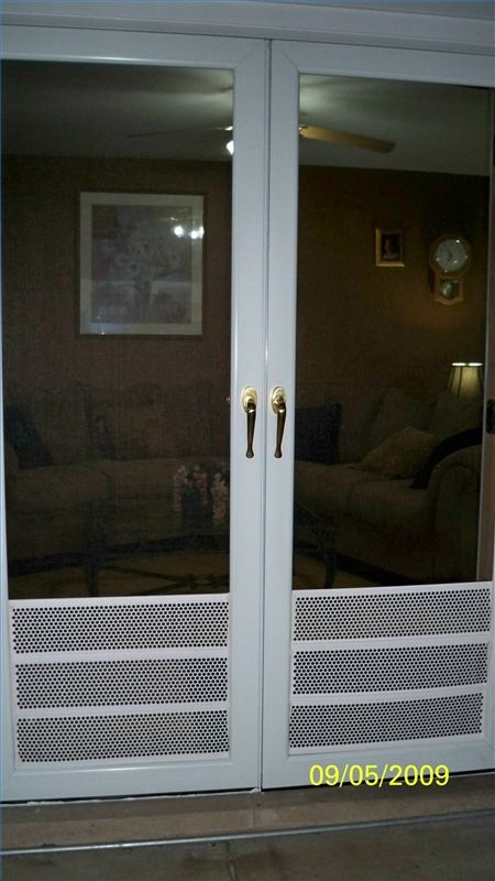 How To Protect Your Screen Doors From Dog Nails Ehow Com Screen Door Protector Screen Door Door Protector