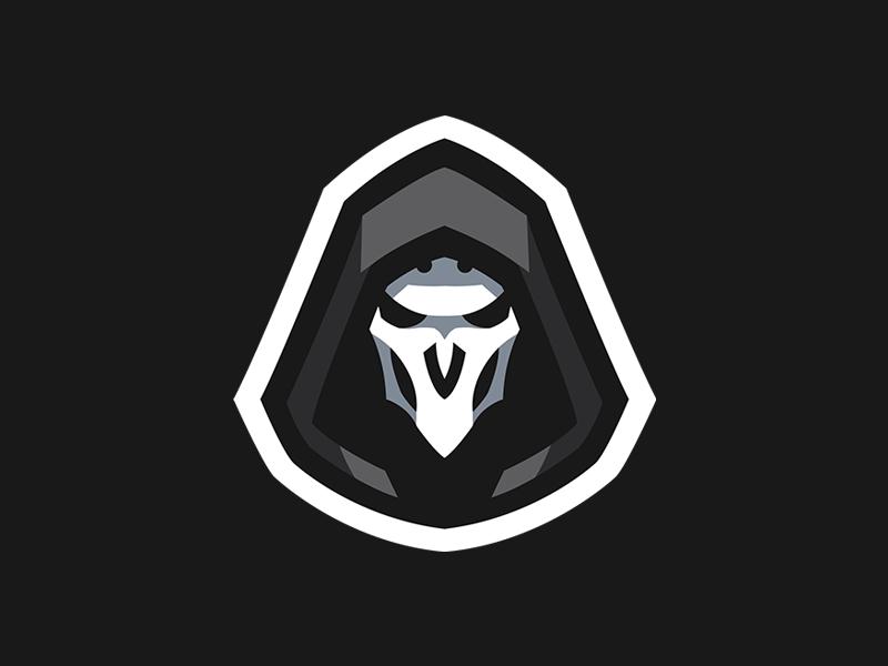 Overwatch Reaper Mascot Logo Overwatch Reaper Logo Design Art Logo Illustration Design