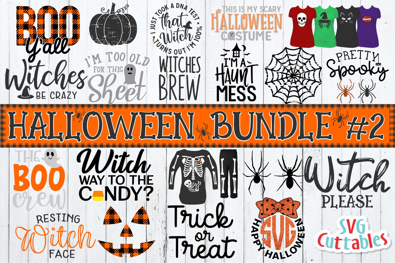 Halloween svg Bundle 2 Halloween monogram, Halloween
