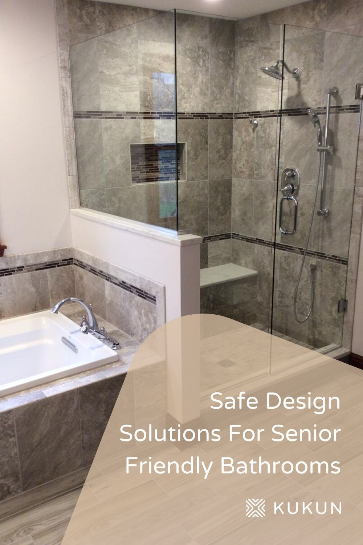 8 Design Ideas To Create Senior Friendly Bathrooms In 2020 New Bathroom Designs Bathroom Flooring Options Bathroom Remodel Cost
