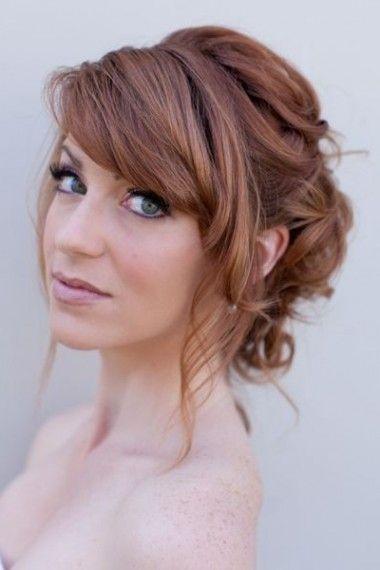 Resultat De Recherche D Images Pour Modele De Coiffure Mariage Cheveux Mi Long Romantic Wedding Hair Wedding Hair Front Medium Hair Styles