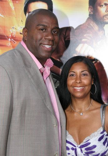 Magic Johnson and His Wife | cookie and magic johnson and ...