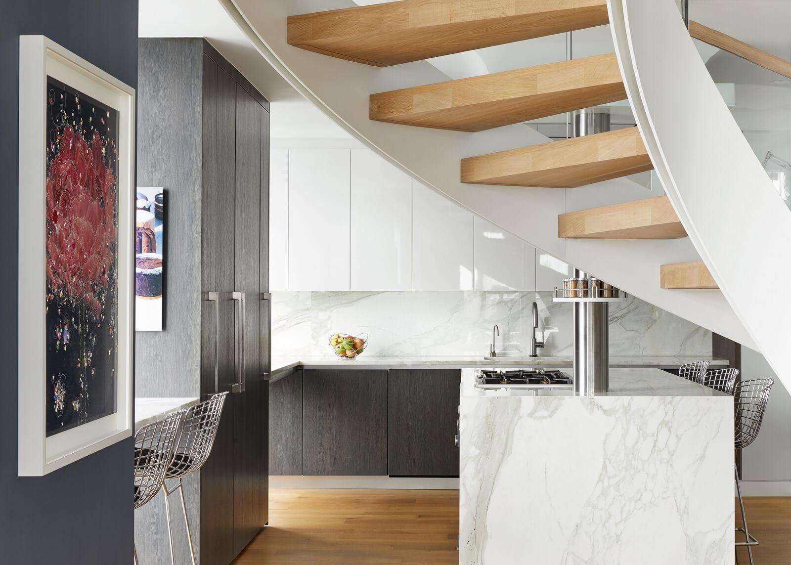 Inspiring Staircase Designs For Duplex House Villa Decoration
