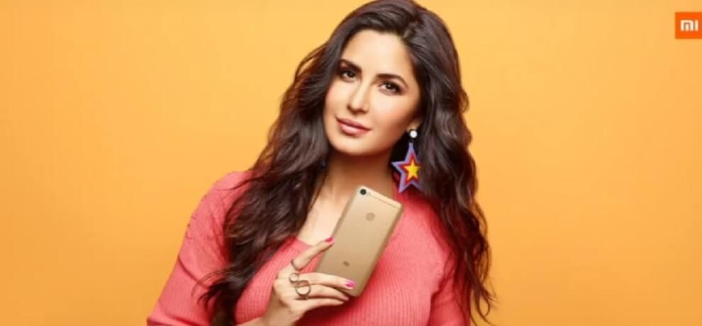 Xiaomi Has Launched The New Series Y Smartphone In India Today Called The Redmi Y1 The Company Has Made Katrina Kaif Brand A Xiaomi Smartphone Product Launch