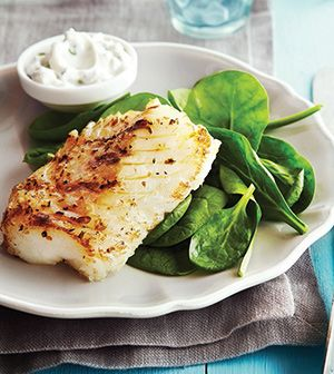 Check out greek style grilled fish with cucumber mint for Grilled cod fish recipes