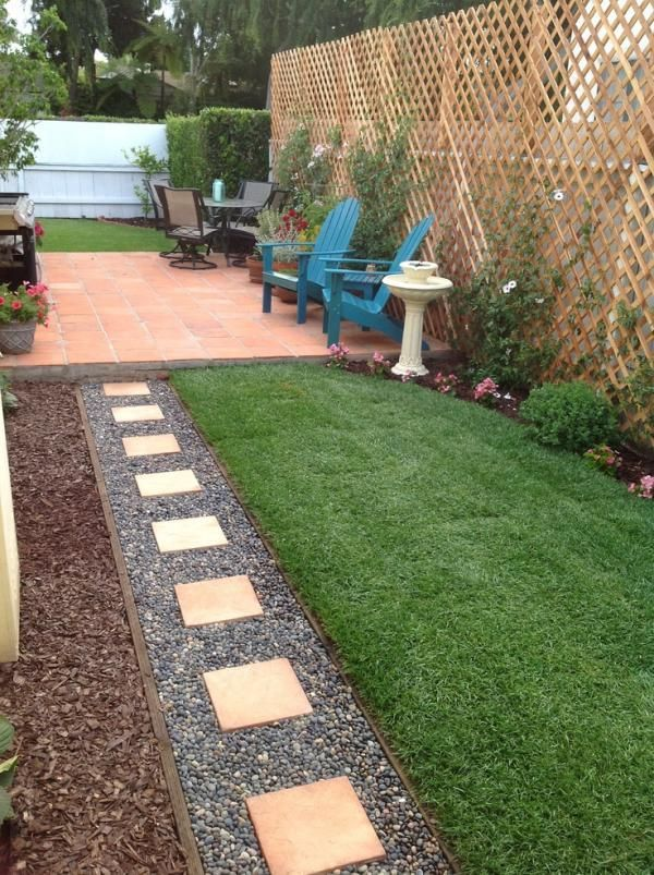 how to make your backyard look bigger