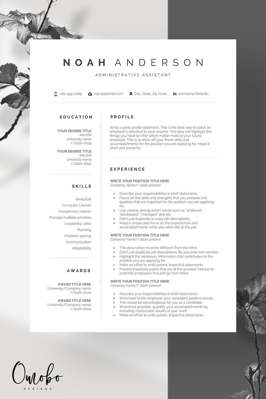 Resume Resume Template Professional Resume Template Resume
