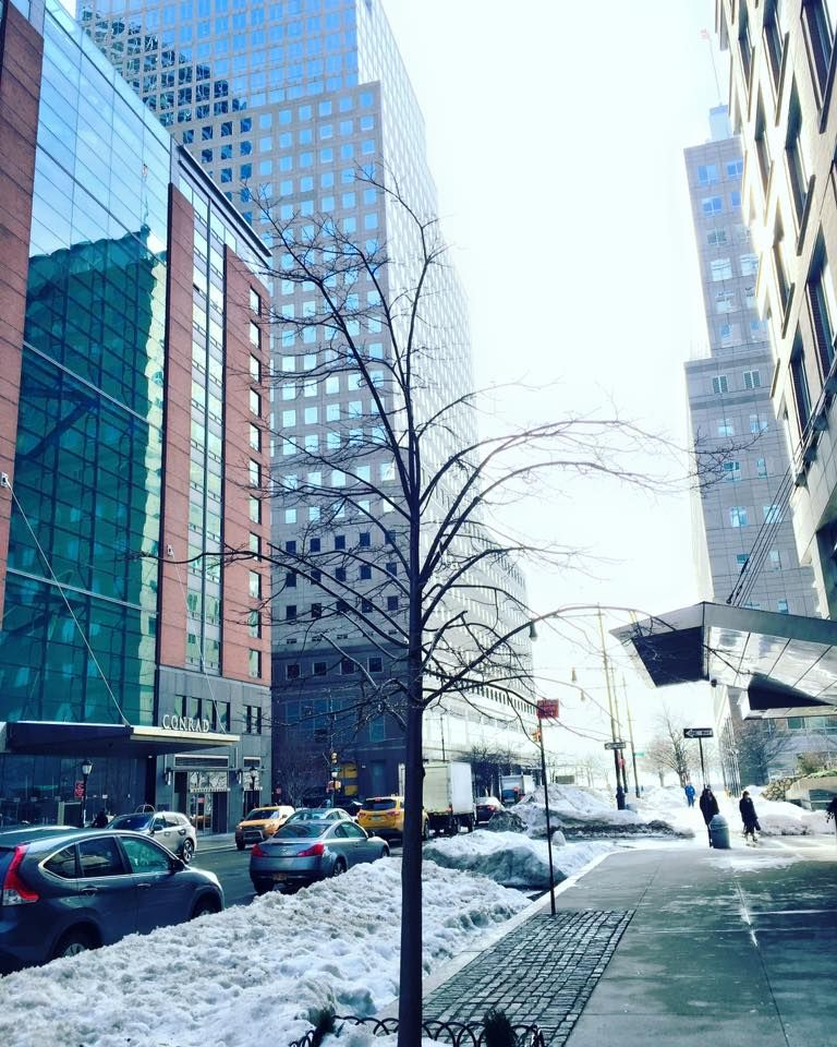 Hotels Swd Green2stay Conrad New York Hotel Snowy Yet Sunny Afternoon Hotelspark Citybattery